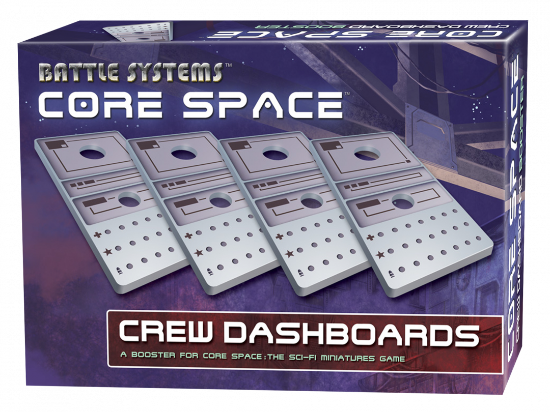 Core Space Dashboard Booster (Damaged Packaging)