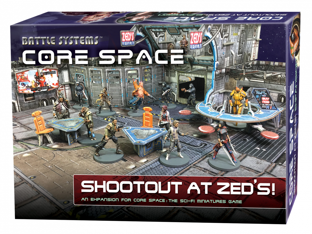 Core Space Shootout at Zed's Expansion