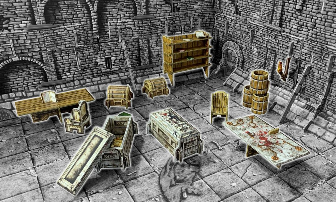 Fantasy Dungeon Room Furniture
