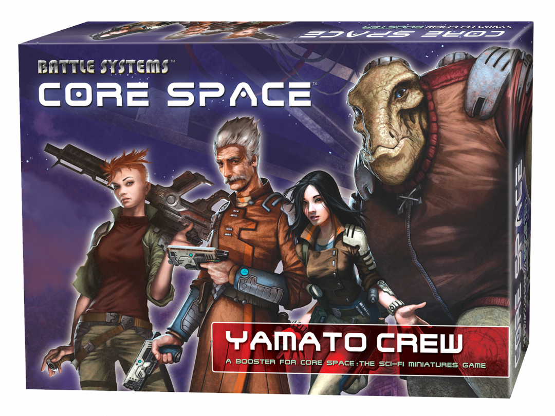 Core Space Yamato Crew (Damaged Packaging)
