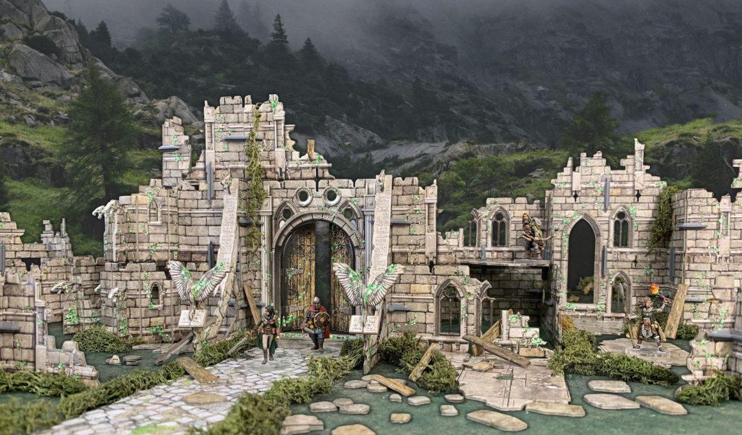 Ruined Monastery (Unpackaged)