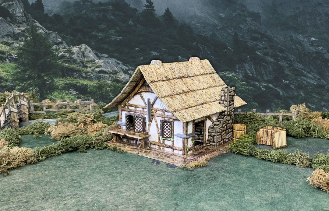 Thatched Cottage (Unpackaged)