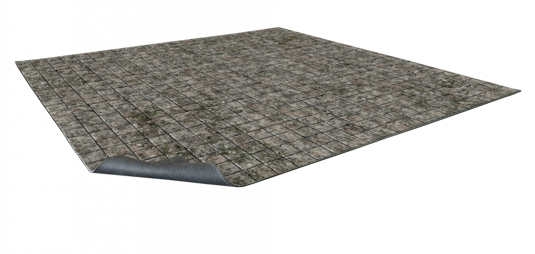 Flagstone Floor Gaming Mat 2×2