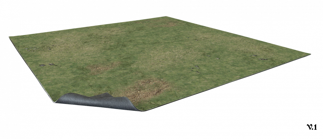 Grassy Fields Gaming Mat 2×2