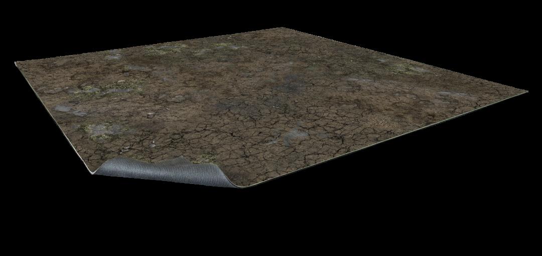 Muddy Streets Gaming Mat 3×3