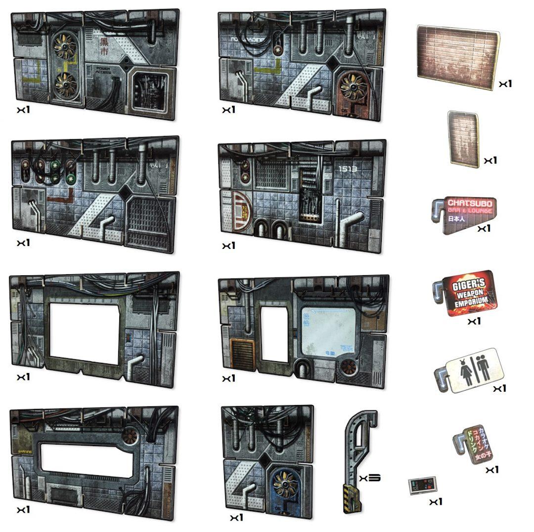 Cyberpunk Walls