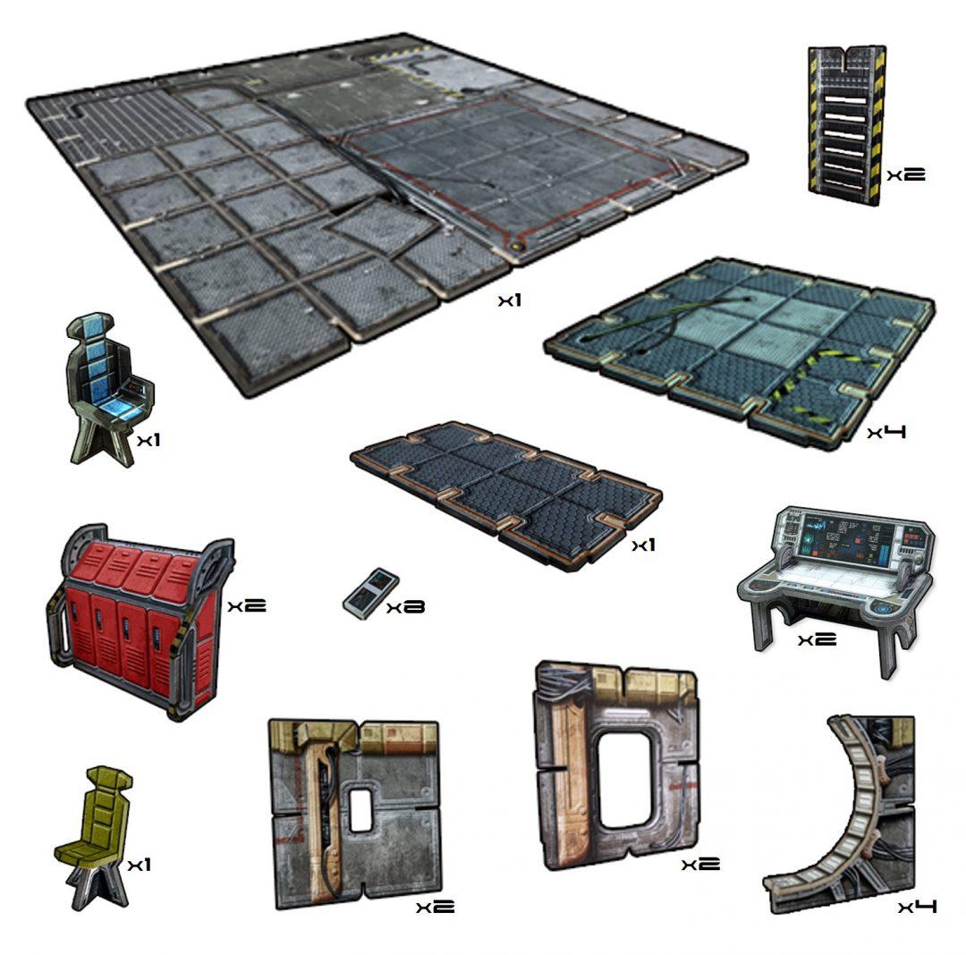 Frontier Floor Tiles Pack