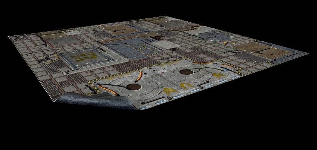 Cyberpunk Gaming Mat 2×2