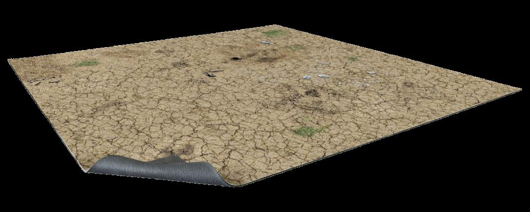 Desert Wasteland Gaming Mat 2×2
