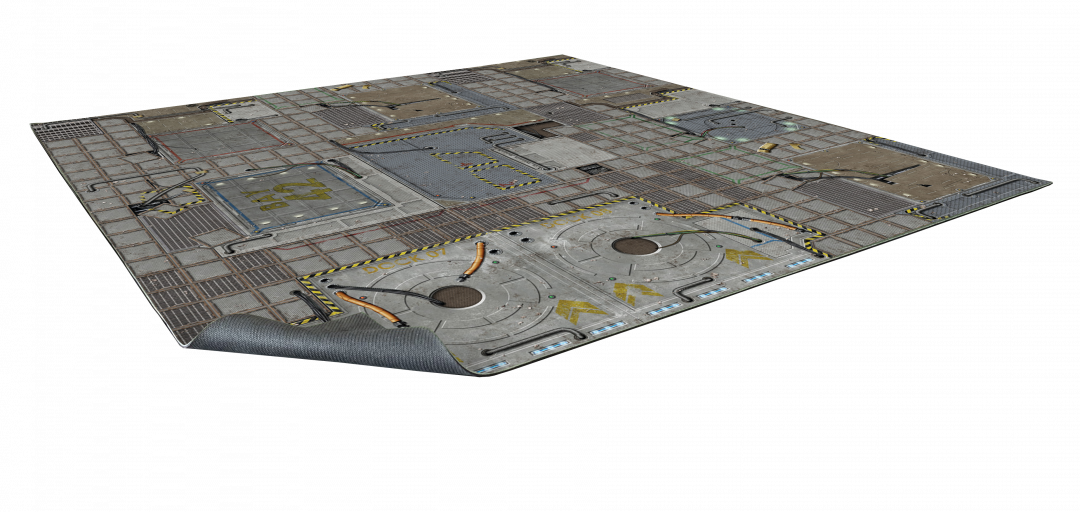 Frontier Sci-fi Gaming Mat 2×2