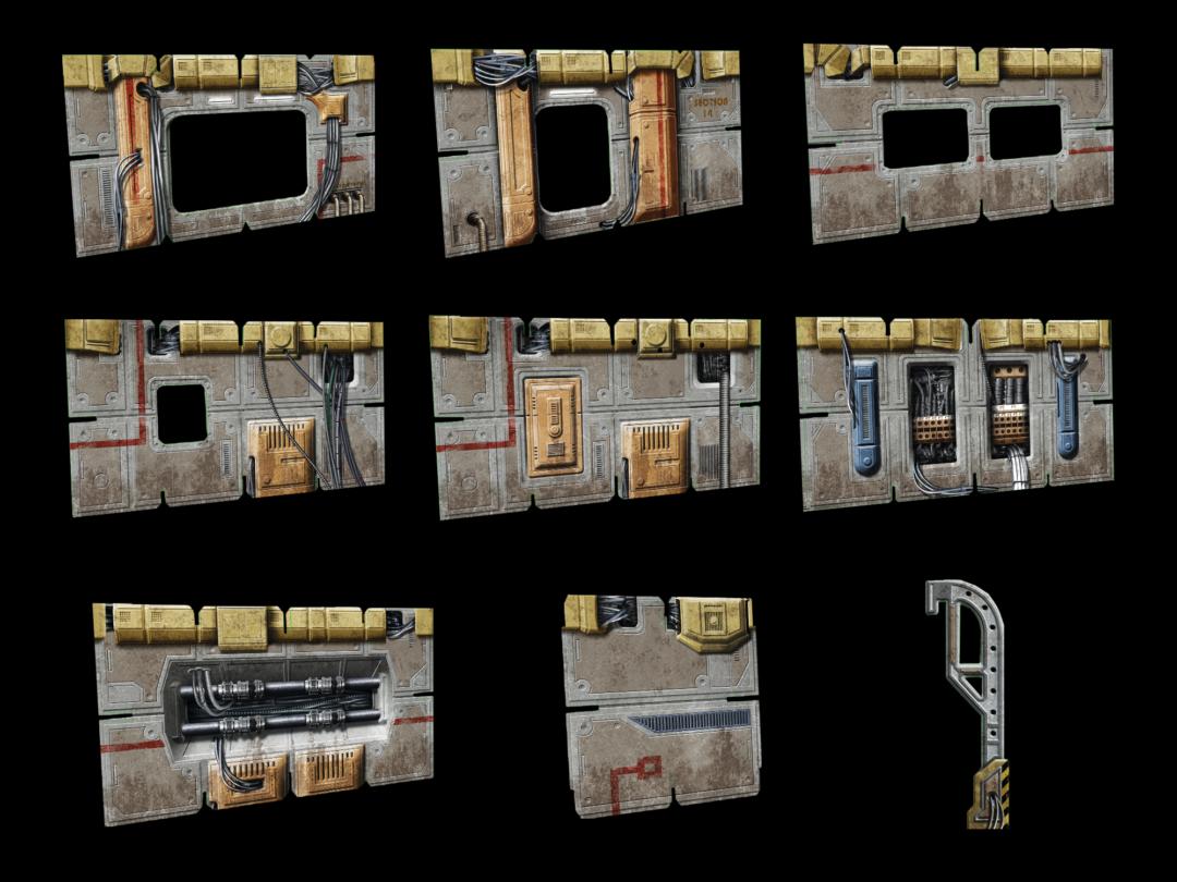 Frontier Walls