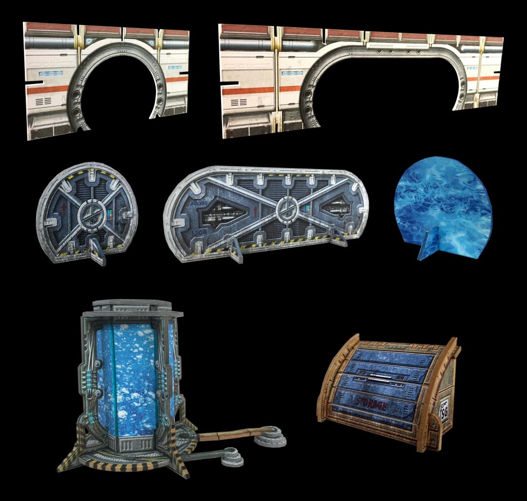 Galactic Doorways & Airlocks