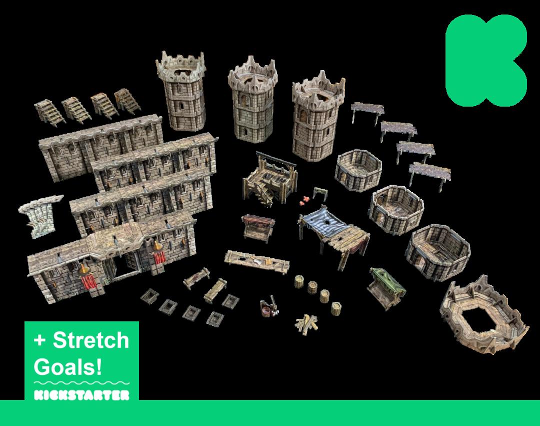 Fantasy Citadel – Kickstarter Edition